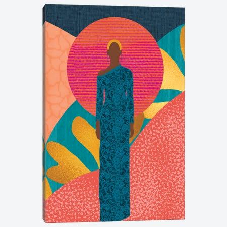 Dejah Canvas Print #SPC66} by Sagmoon Paper Co. Canvas Artwork