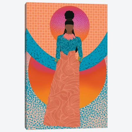 Grace Canvas Print #SPC67} by Sagmoon Paper Co. Canvas Art