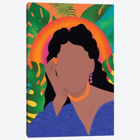 Just Thinking Canvas Print #SPC6} by Sagmoon Paper Co. Canvas Artwork