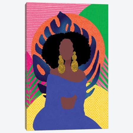Sittin' Pretty Canvas Print #SPC70} by Sagmoon Paper Co. Canvas Art