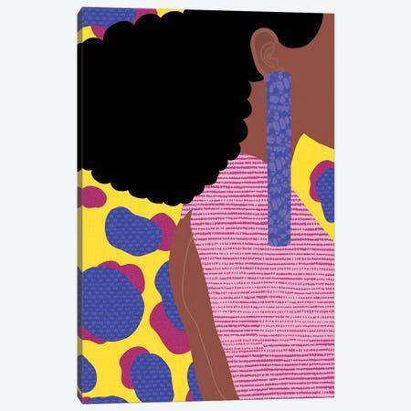 Her Profile Canvas Print #SPC71} by Sagmoon Paper Co. Canvas Artwork