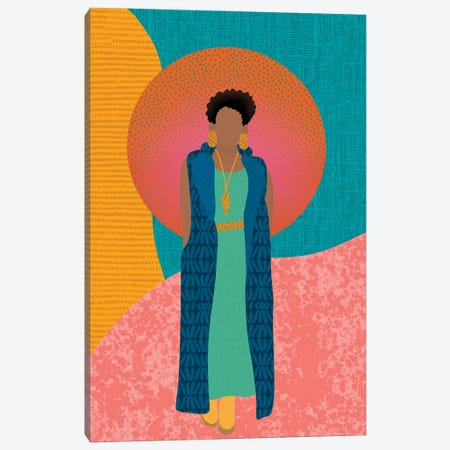 Fall Vibes Canvas Print #SPC73} by Sagmoon Paper Co. Canvas Wall Art
