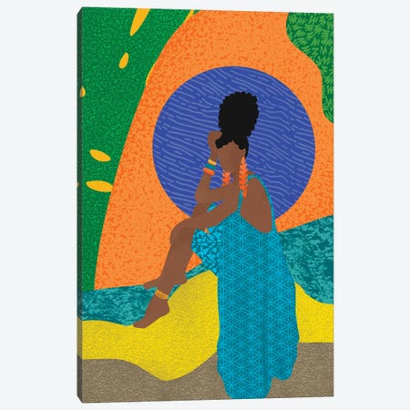 Loungin' Canvas Print #SPC75} by Sagmoon Paper Co. Canvas Print