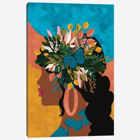 Blooming Canvas Print #SPC78} by Sagmoon Paper Co. Canvas Art