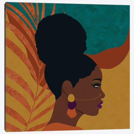 Saige Canvas Print #SPC81} by Sagmoon Paper Co. Art Print