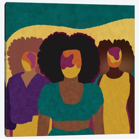 Together Canvas Print #SPC83} by Sagmoon Paper Co. Canvas Art Print