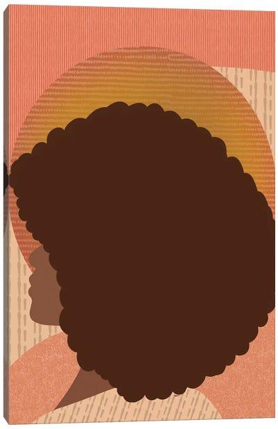 Afro Baby Canvas Art Print