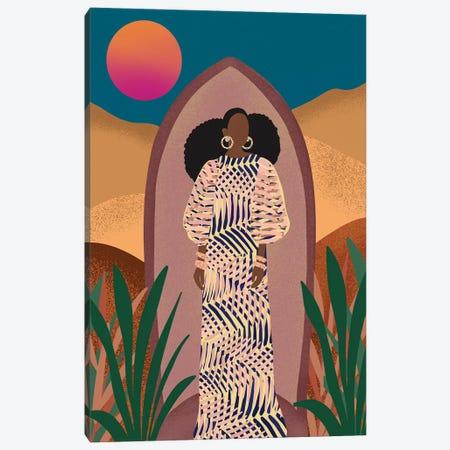 Nneka Canvas Print #SPC90} by Sagmoon Paper Co. Canvas Artwork