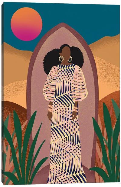 Nneka Canvas Art Print