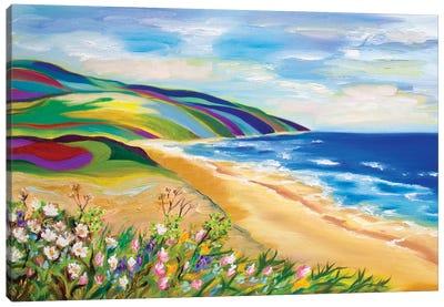 Inverness Beach Canvas Art Print