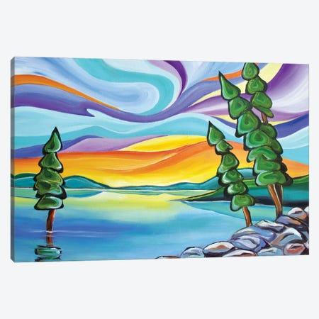 Now and Zen Canvas Print #SPE25} by Jill Sapiente Canvas Art