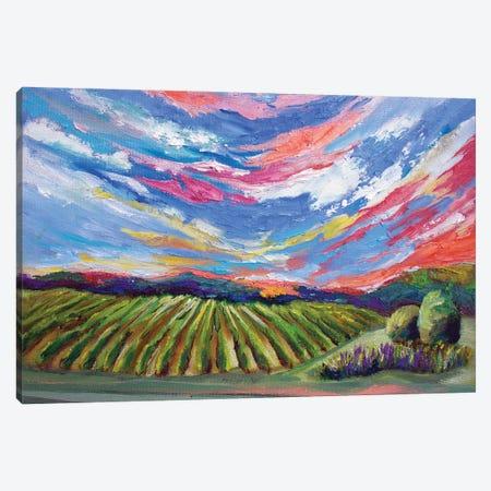 Niagara Vines Canvas Print #SPE35} by Jill Sapiente Canvas Art Print