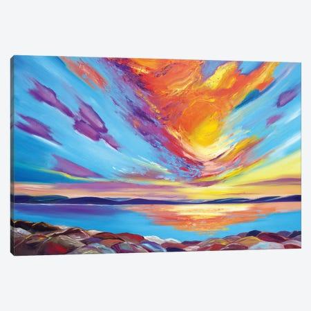 Lake Superior Sky Canvas Print #SPE37} by Jill Sapiente Art Print