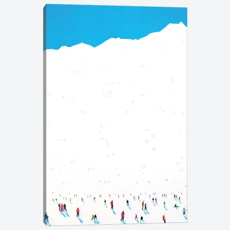 Frozen Planet LVII Canvas Print #SPH14} by Stephanie Ho Canvas Wall Art