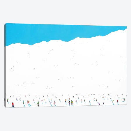 Frozen Planet LXI Canvas Print #SPH16} by Stephanie Ho Canvas Art