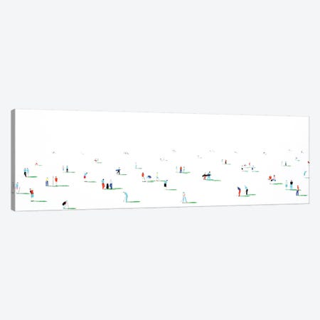 Golfers I Canvas Print #SPH22} by Stephanie Ho Canvas Artwork