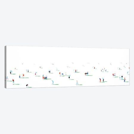 Golfers I 3-Piece Canvas #SPH22} by Stephanie Ho Canvas Artwork