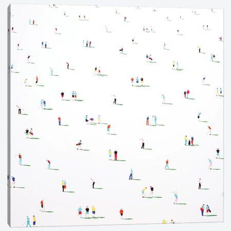 Golfers IV 3-Piece Canvas #SPH24} by Stephanie Ho Canvas Print
