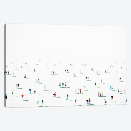 Golfers V Canvas Print #SPH26} by Stephanie Ho Canvas Art Print