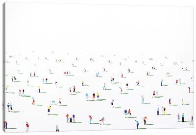 Golfers X Canvas Art Print
