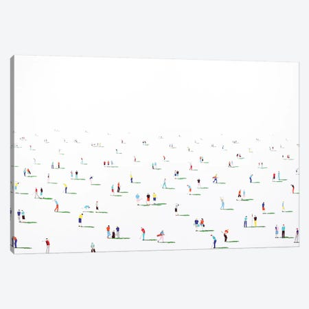 Golfers X Canvas Print #SPH29} by Stephanie Ho Canvas Wall Art