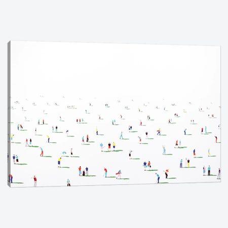 Golfers X Canvas Print #SPH29} by Stephanie Ho Canvas Wall Art