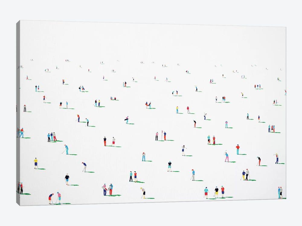 Golfers XIV by Stephanie Ho 1-piece Canvas Artwork