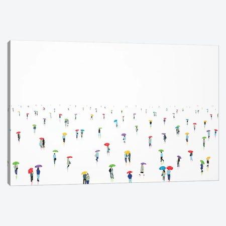 Rain-Bow VIII 3-Piece Canvas #SPH32} by Stephanie Ho Art Print