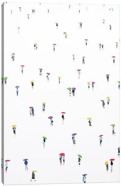 Rain-Bow X Canvas Art Print