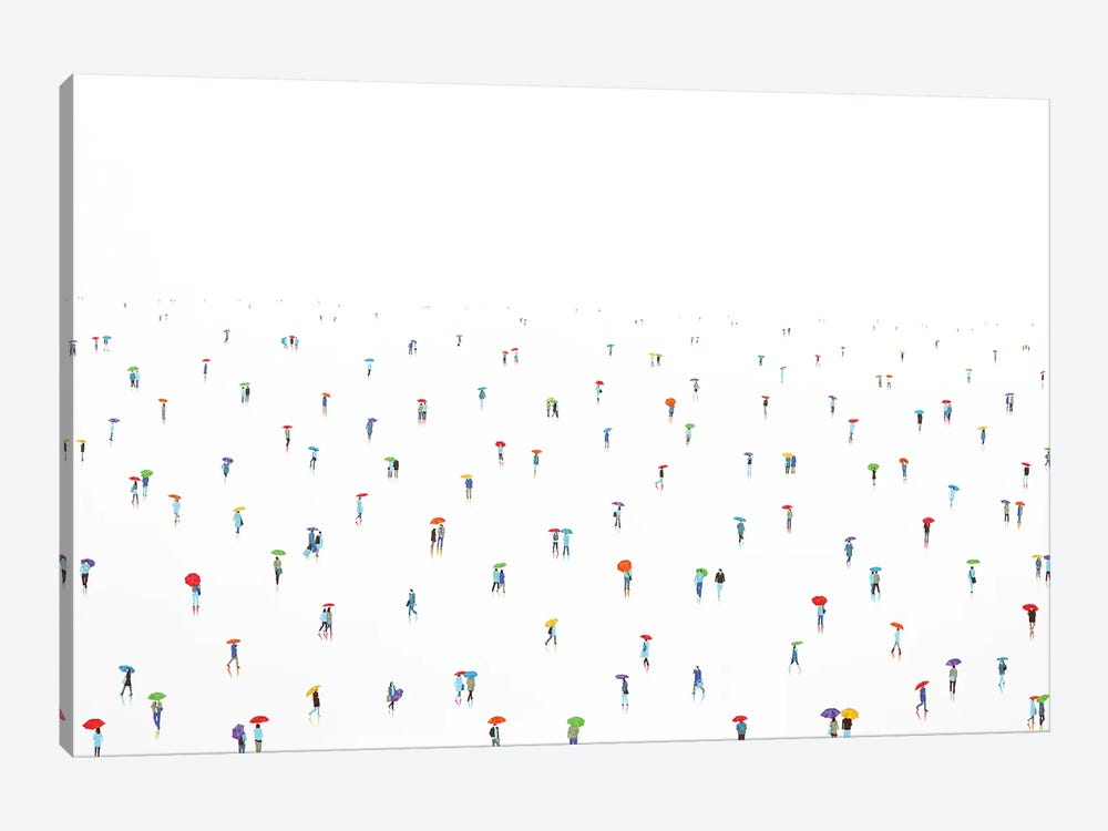 Rain-Bow XIII by Stephanie Ho 1-piece Canvas Wall Art