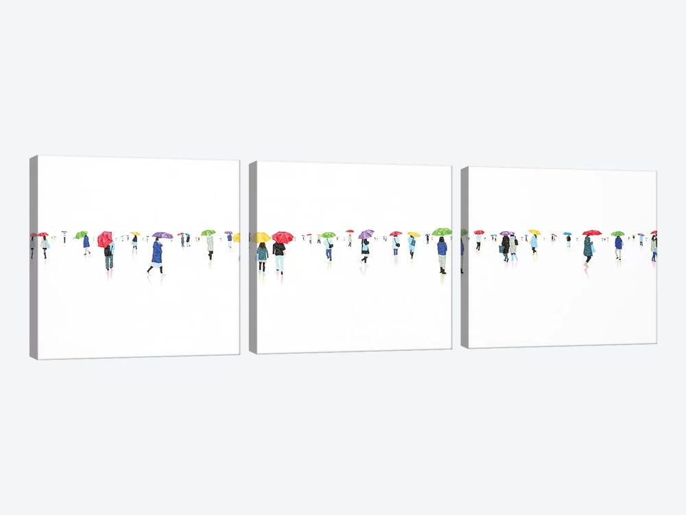Rain-BowIX by Stephanie Ho 3-piece Canvas Wall Art