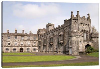 Kilkenny Castle, Kilkenny, County Kilkenny, Leinster Province, Republic Of Ireland Canvas Art Print