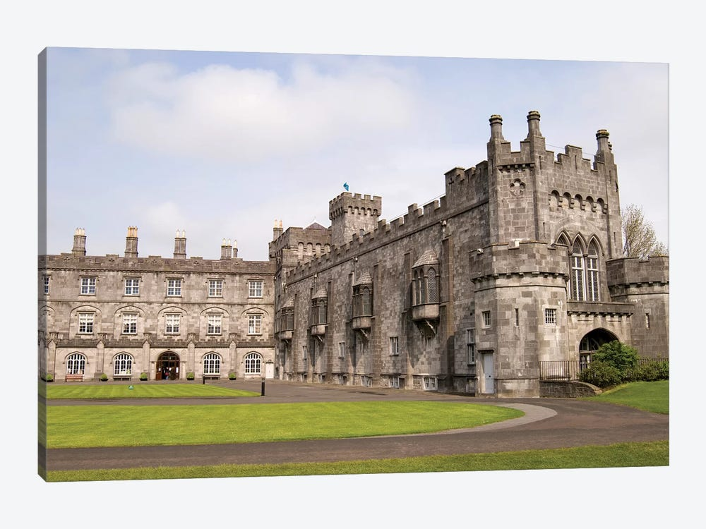 Kilkenny Castle, Kilkenny, County Kilkenny, Leinster Province, Republic Of Ireland by Sergio Pitamitz 1-piece Canvas Artwork