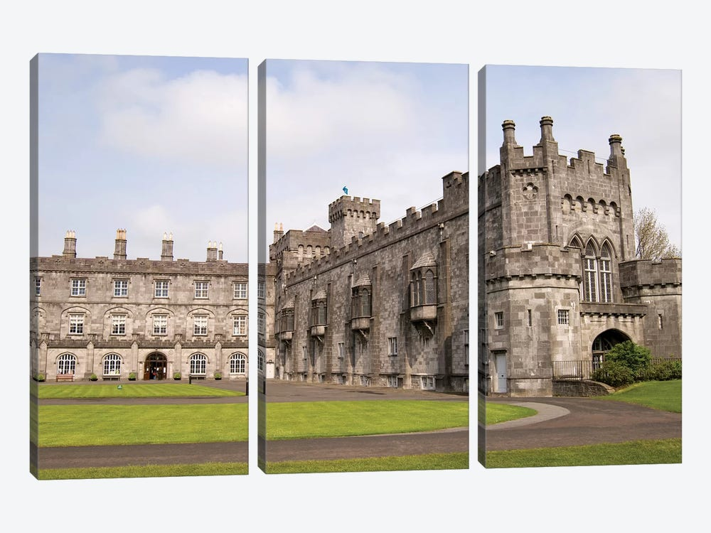 Kilkenny Castle, Kilkenny, County Kilkenny, Leinster Province, Republic Of Ireland by Sergio Pitamitz 3-piece Canvas Art