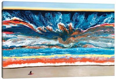 Chasing Depths Canvas Art Print