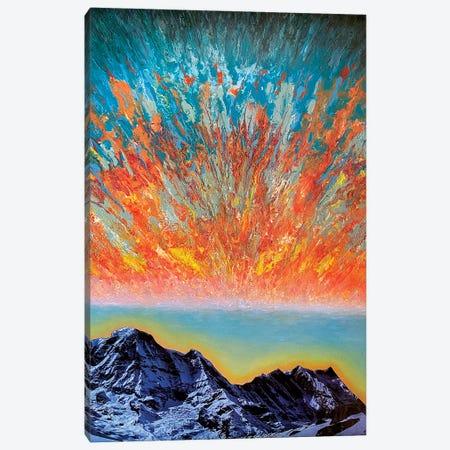 Echoing Mantra Canvas Print #SPL35} by Stefano Pallara Canvas Art