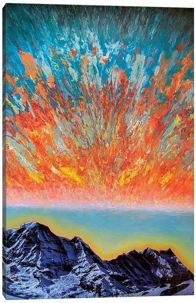 Echoing Mantra Canvas Art Print
