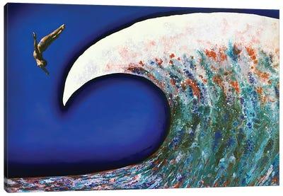Fly Awave III Canvas Art Print
