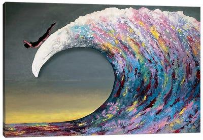 Fly Awave V Canvas Art Print