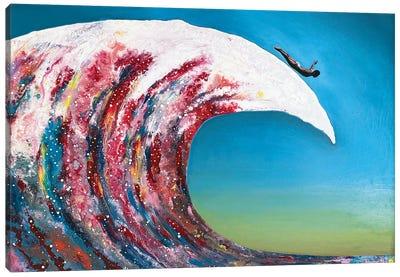 Fly Awave VI Canvas Art Print