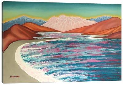 Lake Of Loneliness II Canvas Art Print