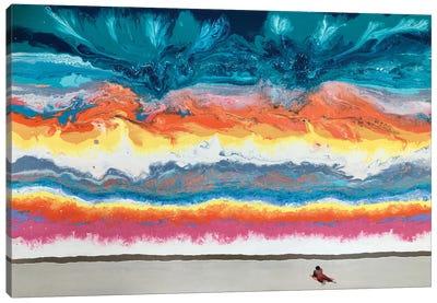 Light Condensation Of Unanchosed Ideas Canvas Art Print