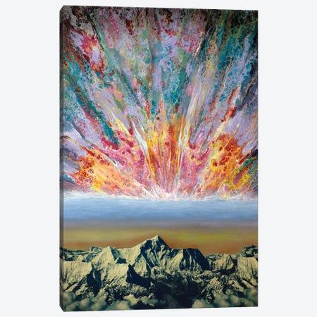 Echoing Mantra III Canvas Print #SPL67} by Stefano Pallara Art Print