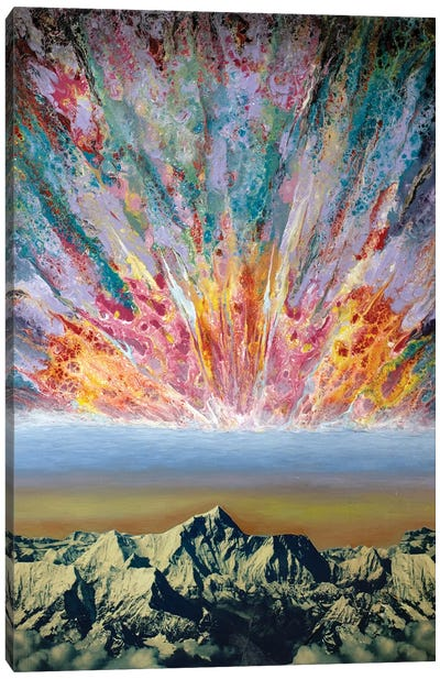 Echoing Mantra III Canvas Art Print