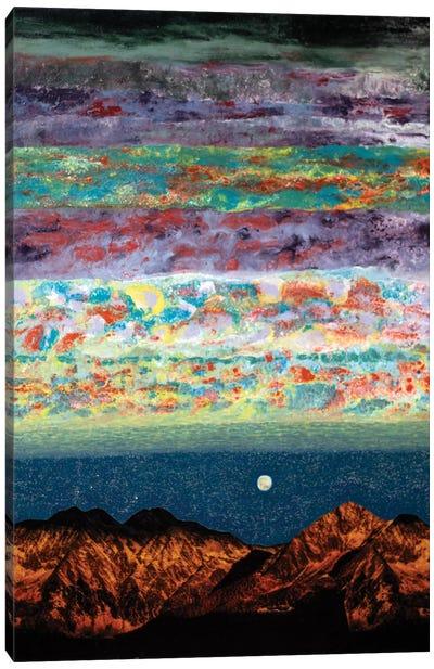 Nomadic Paths Canvas Art Print