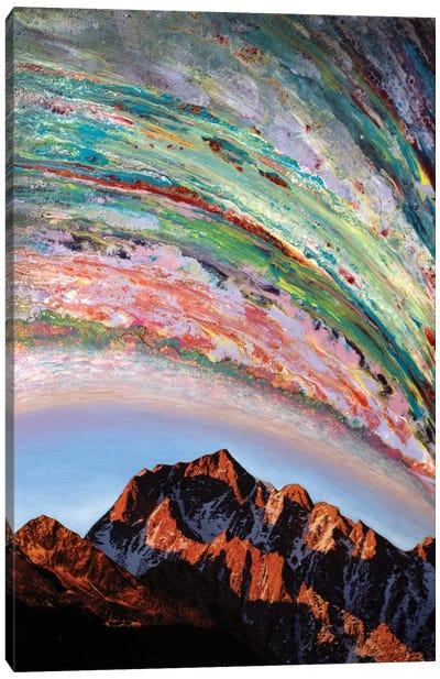 Serotonin Fuelled Elusions II Canvas Art Print