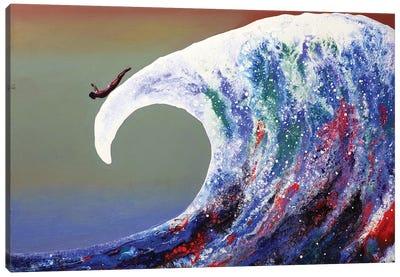 Fly Awave VIII Canvas Art Print