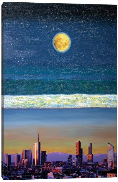 Promessa Alla Luna II Canvas Art Print