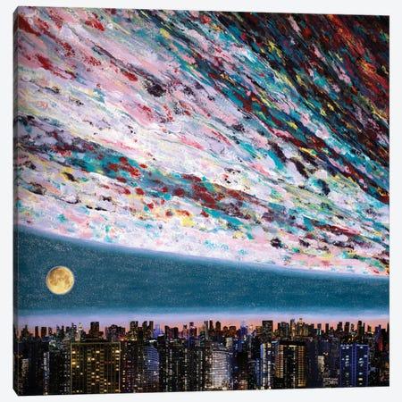 Promessa Alla Luna III Canvas Print #SPL87} by Stefano Pallara Art Print