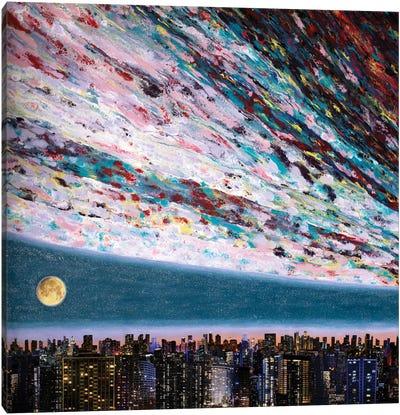 Promessa Alla Luna III Canvas Art Print